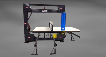Industrial Vertical Foam Band Saw For Furniture Makers & Manufacturers